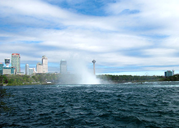 Lyon's Creek Niagara Falls View
