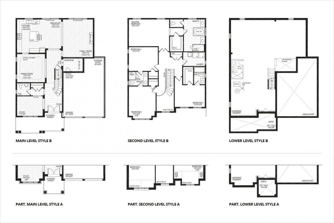 The Amarone - Floor Plan