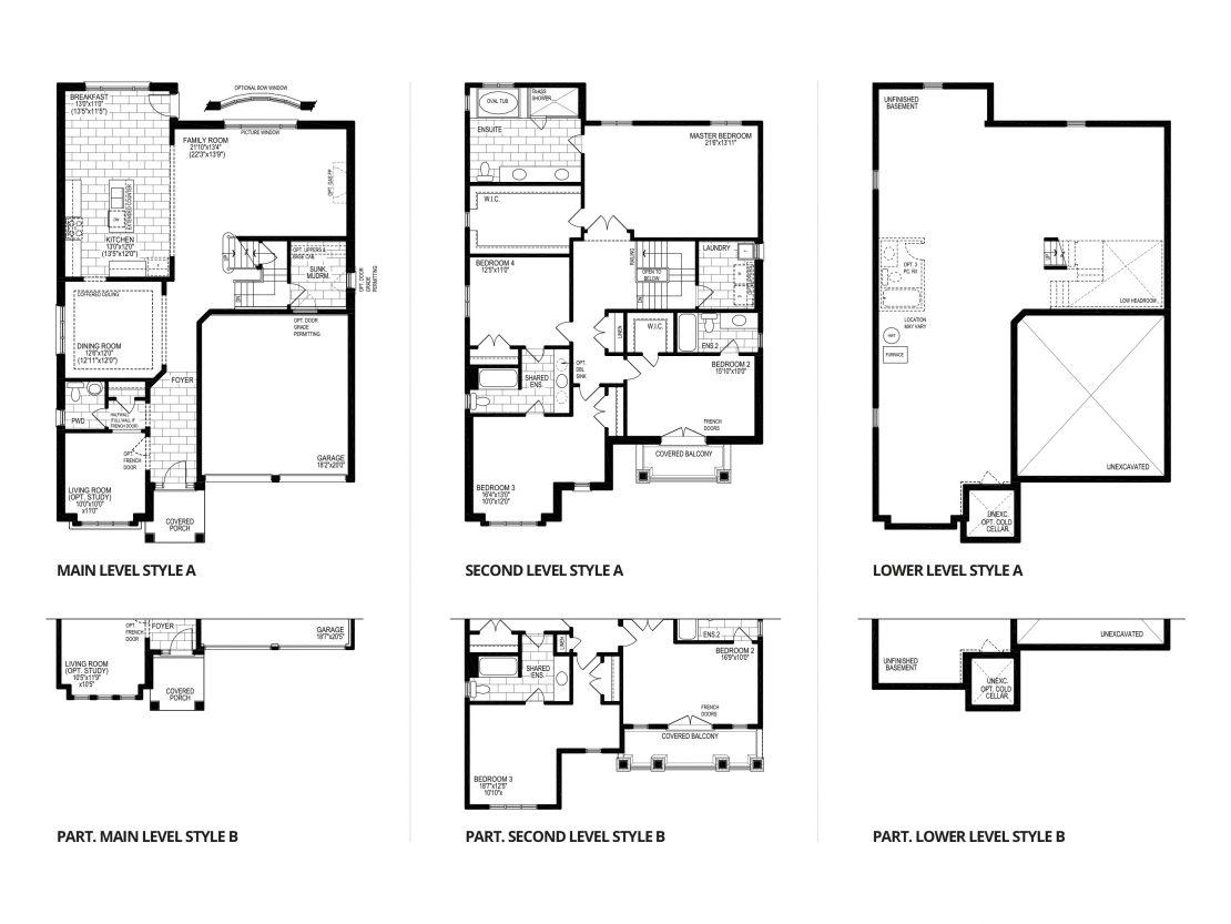 The Malbec - Floor Plan