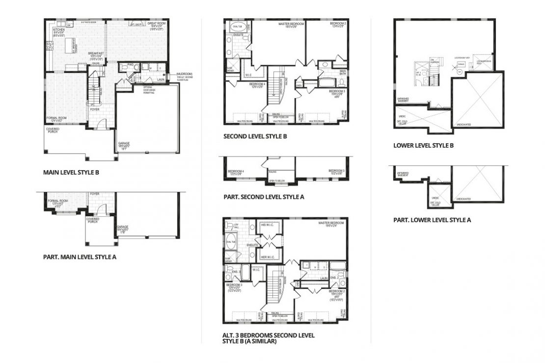 The Moscato  -  Floor Plan