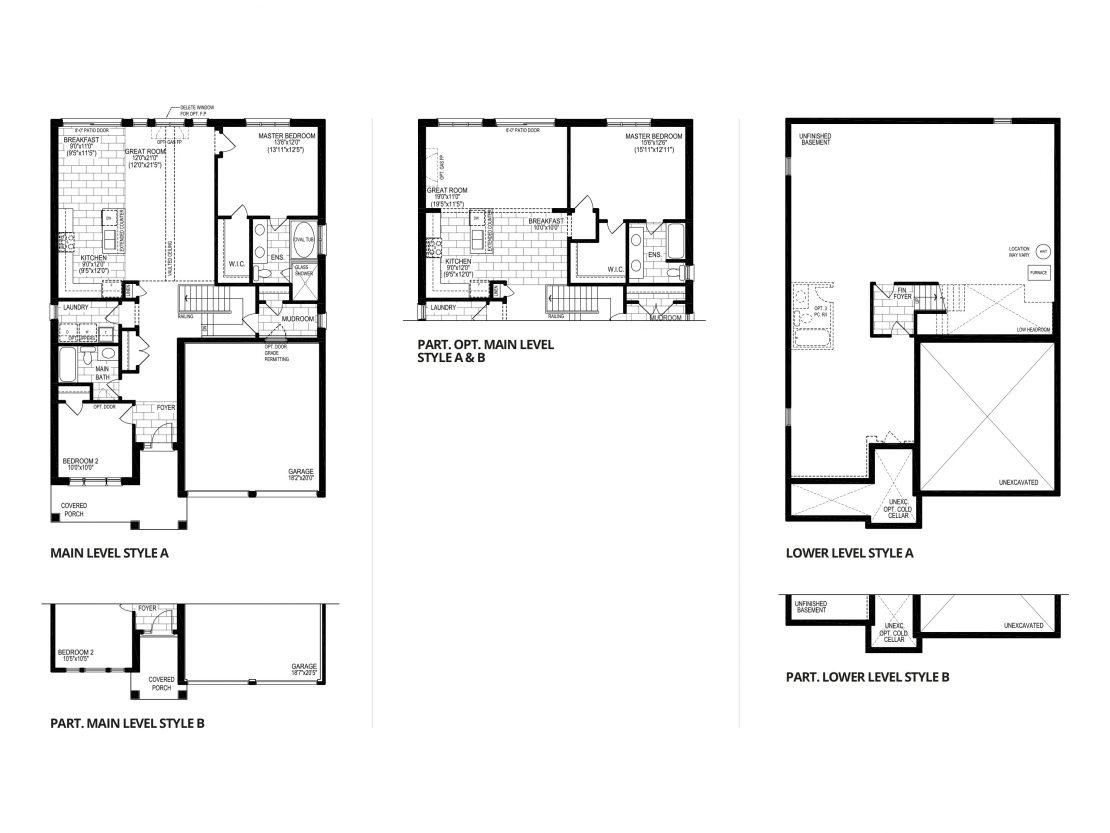 The Zinfandel - Floor Plan