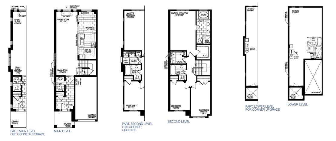 The Asti - Floor Plan