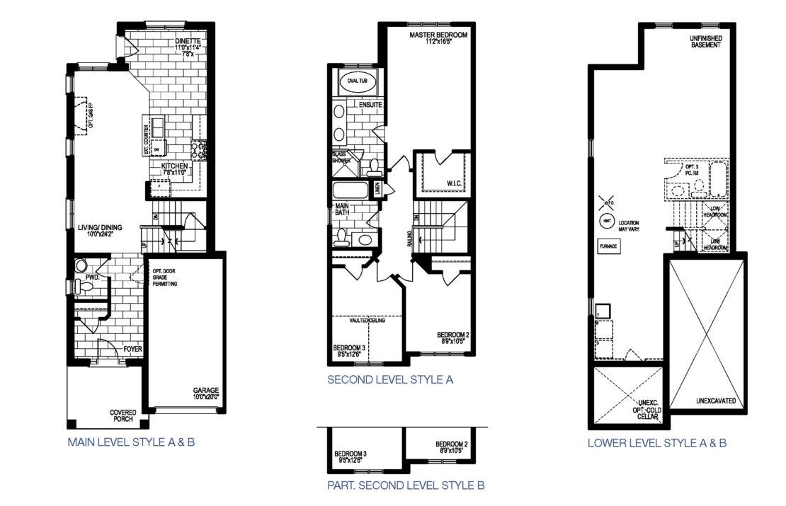 The Barolo - Floor Plan
