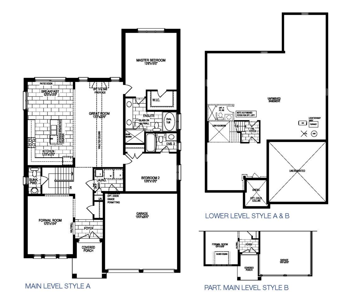 The Beaujolais - Floor Plan