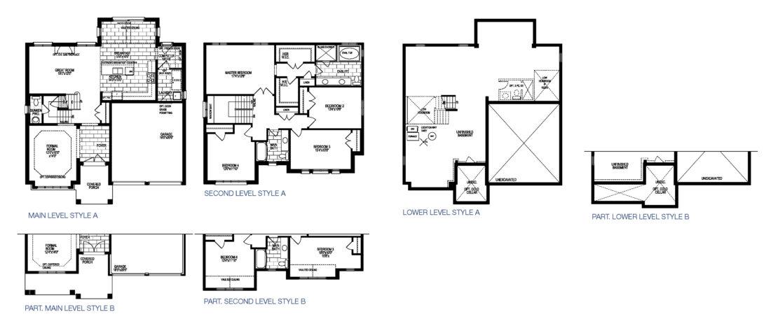 The Burgundy - Floor Plan