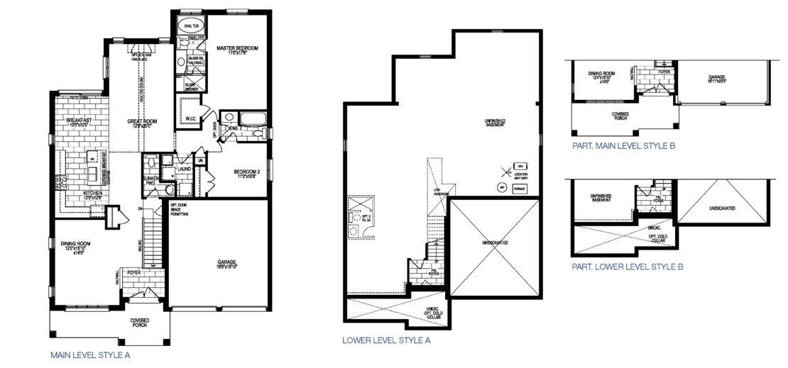 The Cabernet - Floor Plan