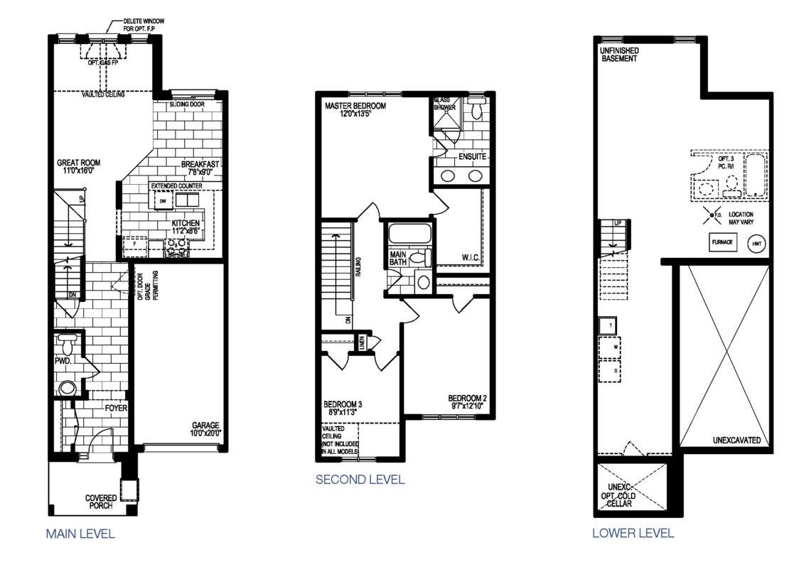 The Riesling - Floor Plan